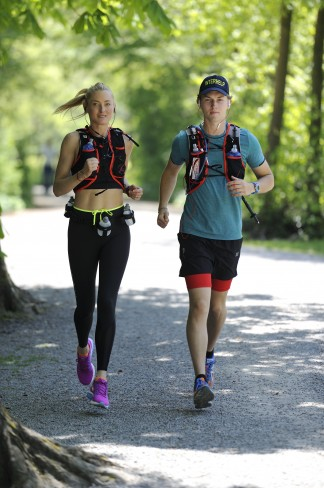 Princess Lilly and her son Prince Heinrich Donatus will commence their ultra run for Interhelp