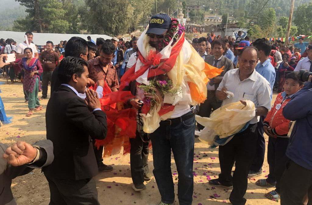 Ein Festtag für Hiledevi: Nach Erdbeben: Interhelp weiht Schule in Nepal ein