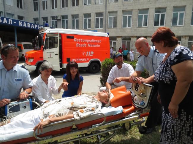 Interhelp hilft Bulgarien – Notarztwagen der Feuerwehr Hameln im Einsatz auf dem Balkan