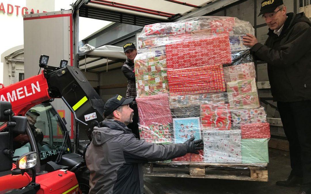 Hilfe ist unterwegs – Weihnachtsexpress rollt